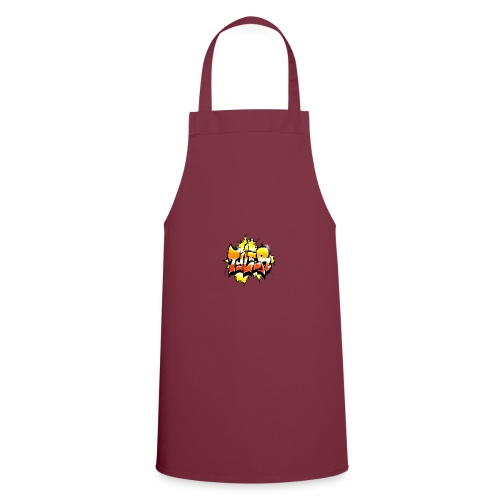 Graffiti Tayler Orange Red and Yellow Style - Cooking Apron