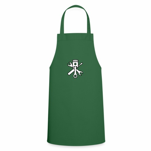 Pistons and tools 2c (+ your text) - Cooking Apron