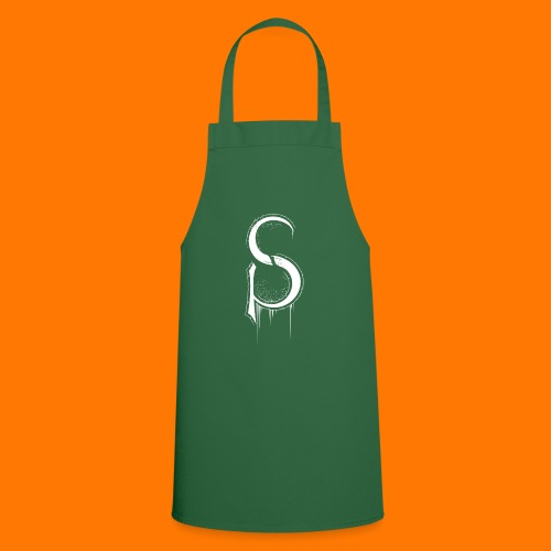 SCP-sign-WHITE transp - Cooking Apron