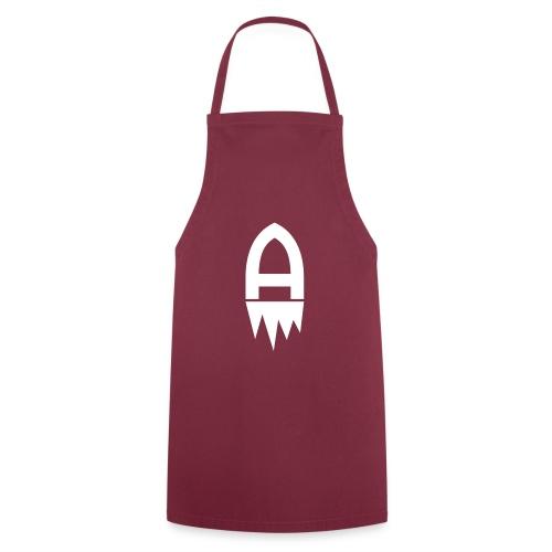 Adelite - Weisses Logo - Kochschürze
