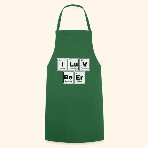 I LuV BeEr I Love Beer - Kochschürze