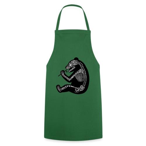 Panda skeleton - Cooking Apron