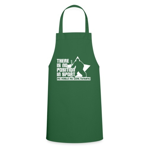 Ice Hockey Goalie Quote - Cooking Apron