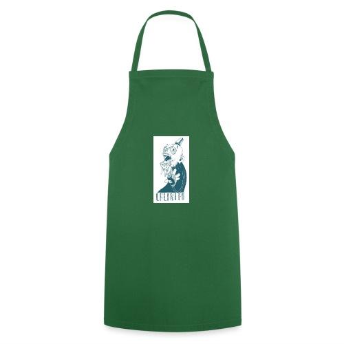 La calavera - Delantal de cocina