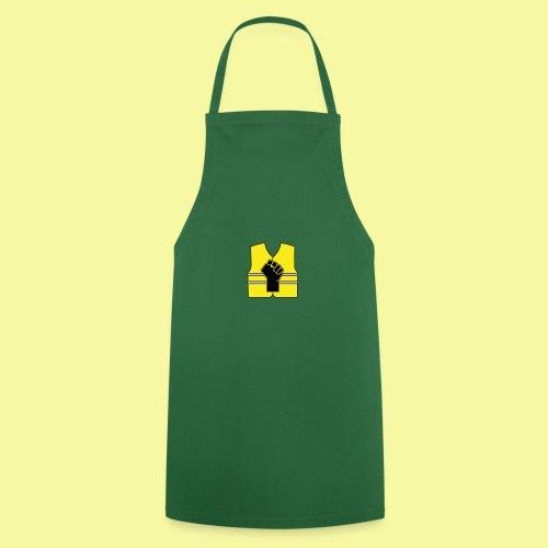 logo gilet poing - Tablier de cuisine