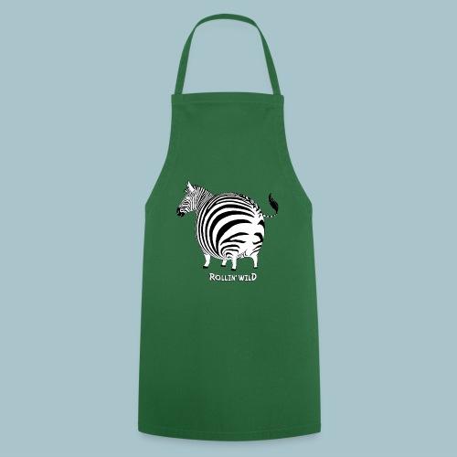 Rollin' Wild - Zebra - Cooking Apron
