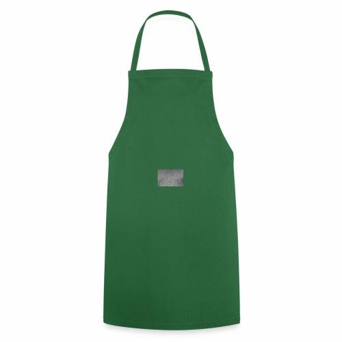 Camiseta cuadrado gris moderno - Delantal de cocina