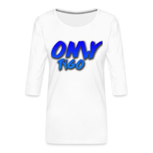 OnlyTygo - Vrouwen premium shirt 3/4-mouw