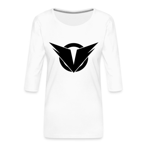 Vintry Logo on back - Frauen Premium 3/4-Arm Shirt