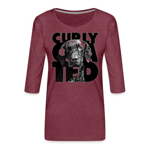 Curly Coated II - Naisten premium 3/4-hihainen paita