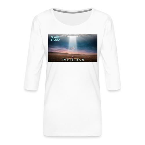 INVISIBLE - Maglietta da donna premium con manica a 3/4