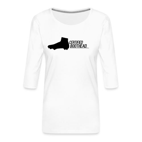 Certified Boothead - Women's Premium 3/4-Sleeve T-Shirt