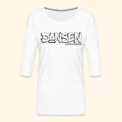 LidingoeDansen - Premium-T-shirt med 3/4-ärm dam