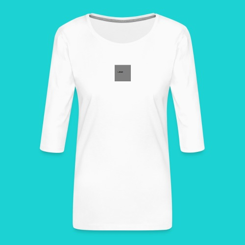 logo-png - Women's Premium 3/4-Sleeve T-Shirt