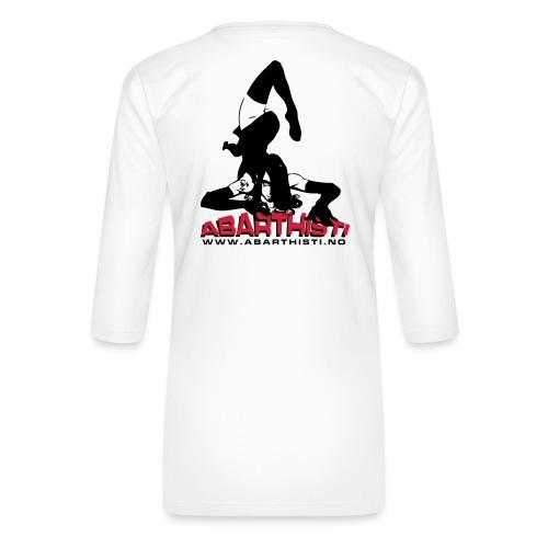 Abarthisti Pinup - Premium T-skjorte med 3/4 erme for kvinner