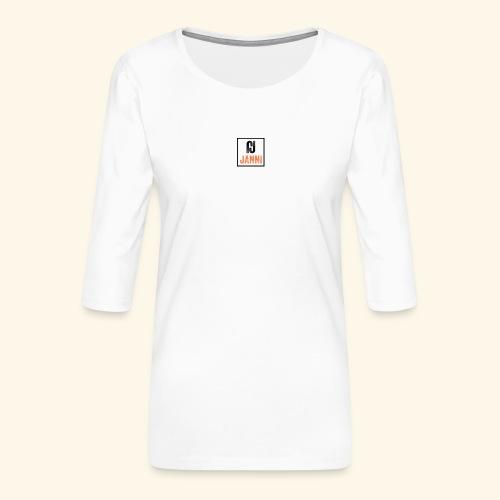 Janni Original Design - Dame Premium shirt med 3/4-ærmer