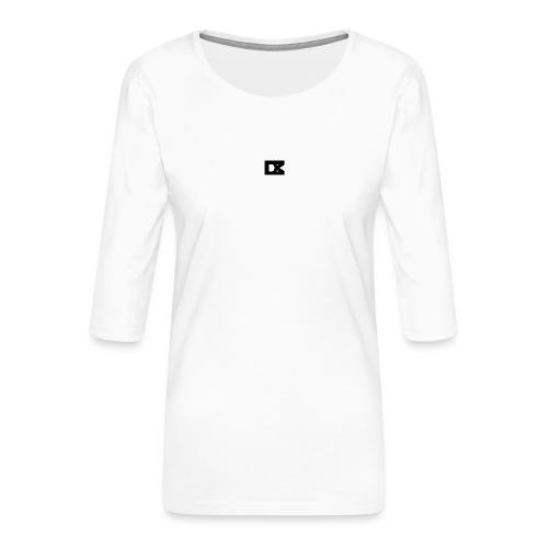 DM-Bart - Vrouwen premium shirt 3/4-mouw
