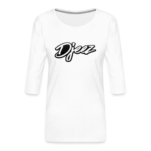 djeez_official_kleding - Vrouwen premium shirt 3/4-mouw