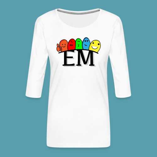 EM - Naisten premium 3/4-hihainen paita