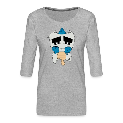 Monster - Frauen Premium 3/4-Arm Shirt