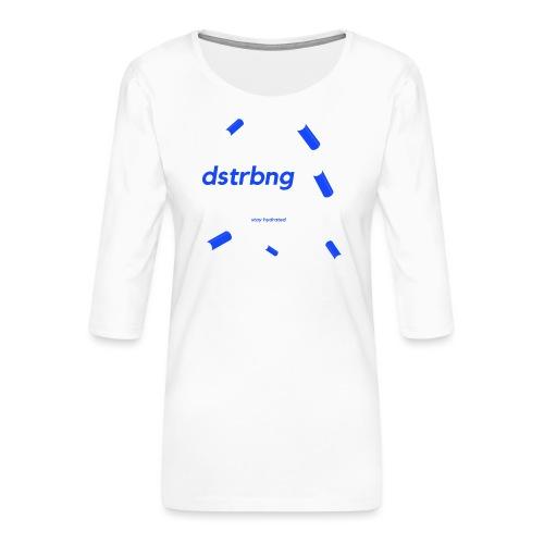 stay hydrated - Women's Premium 3/4-Sleeve T-Shirt