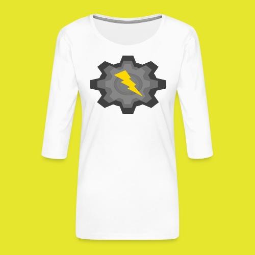 kugg - Premium-T-shirt med 3/4-ärm dam