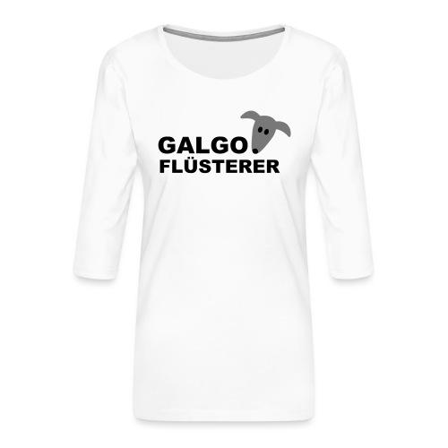 Galgoflüsterer - Frauen Premium 3/4-Arm Shirt