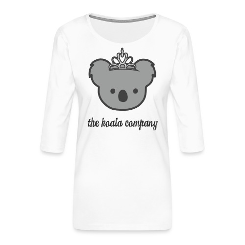 Prinzessin Kopf - Frauen Premium 3/4-Arm Shirt