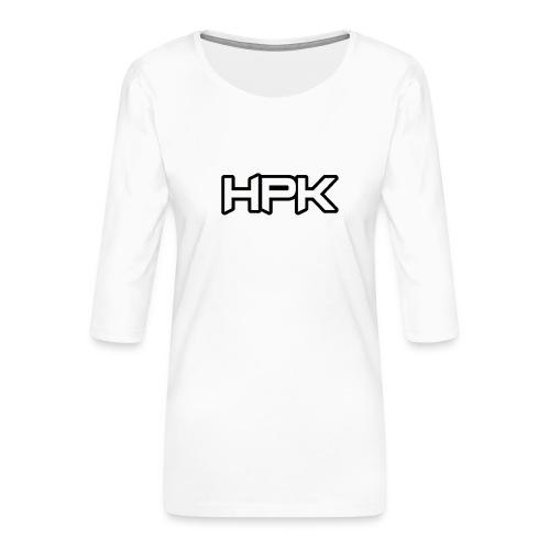 Het play kanaal logo - Vrouwen premium shirt 3/4-mouw