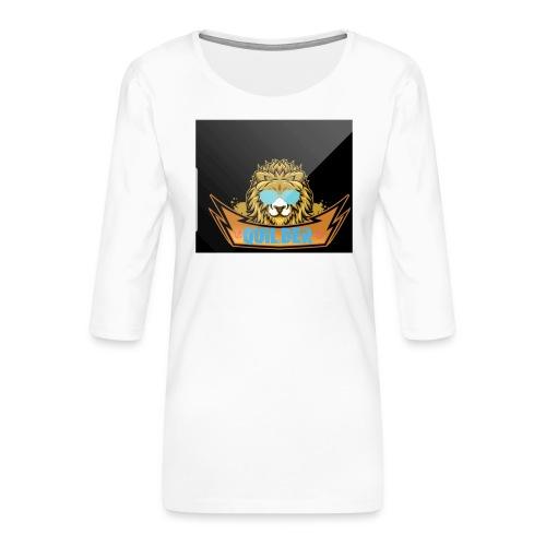 20200216 104401 - Premium-T-shirt med 3/4-ärm dam