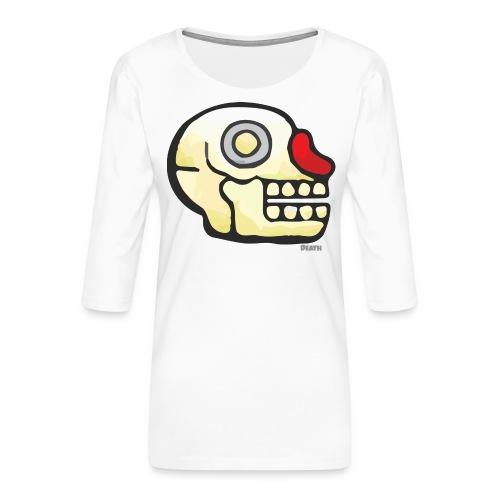 Aztec Icon Death - Women's Premium 3/4-Sleeve T-Shirt