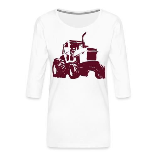 Case1 - Women's Premium 3/4-Sleeve T-Shirt