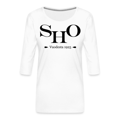 SHO - Naisten premium 3/4-hihainen paita
