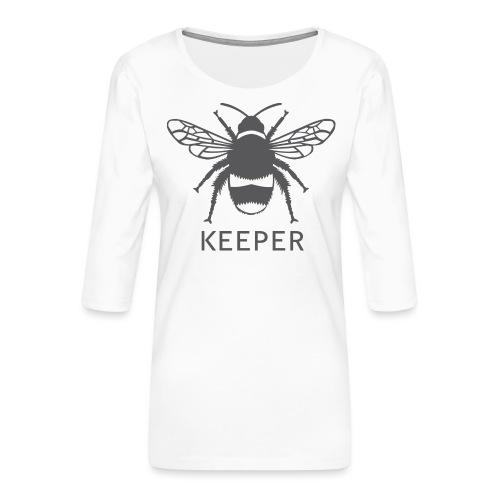Bee Keeper - Women's Premium 3/4-Sleeve T-Shirt
