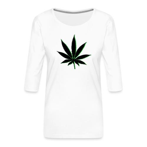 canna - T-shirt Premium manches 3/4 Femme