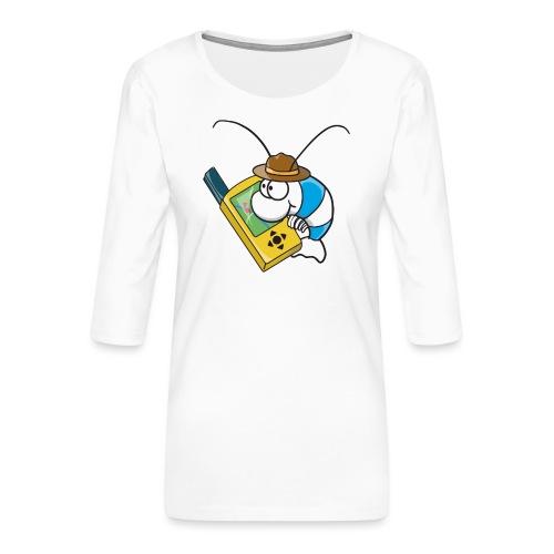 Thoddys Geocaching Garnele - Frauen Premium 3/4-Arm Shirt