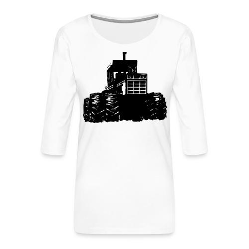 IH 4WD Tractor - Women's Premium 3/4-Sleeve T-Shirt