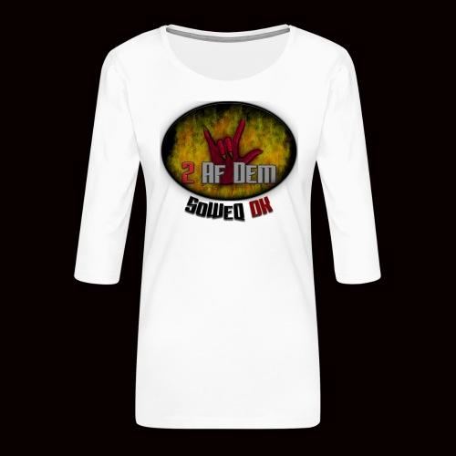 #2AfDem Collection ! - Dame Premium shirt med 3/4-ærmer