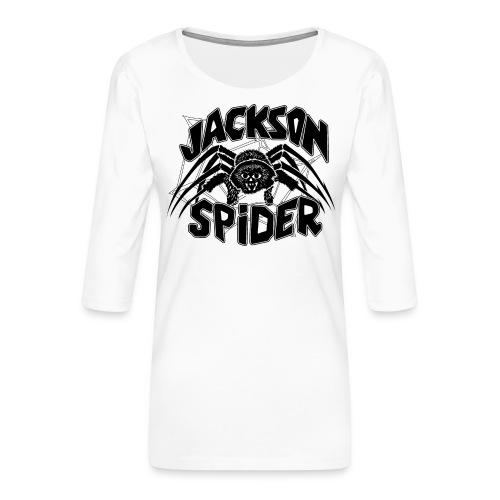 jackson spreadshirt - Frauen Premium 3/4-Arm Shirt