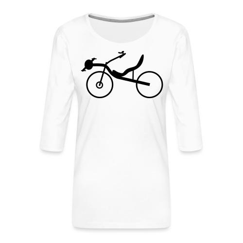 Raptobike - Frauen Premium 3/4-Arm Shirt