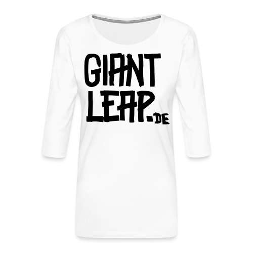 schriftzugMolotow svg - Frauen Premium 3/4-Arm Shirt
