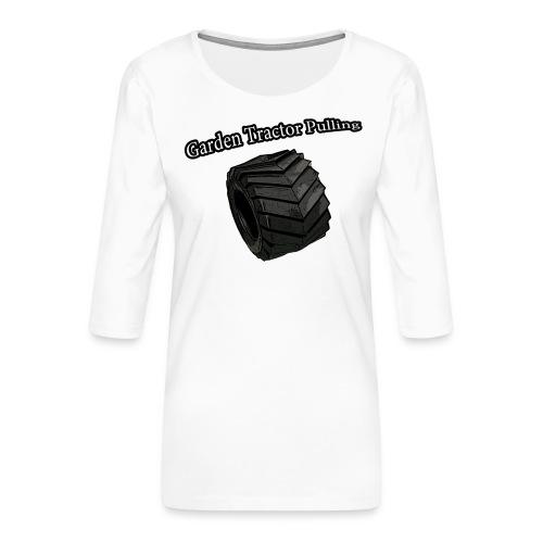 Børne - Pulling - Dame Premium shirt med 3/4-ærmer