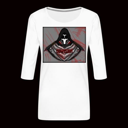 SoWeQDK Reaper ! - Dame Premium shirt med 3/4-ærmer