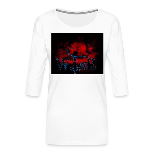 WISR Huppari - Naisten premium 3/4-hihainen paita
