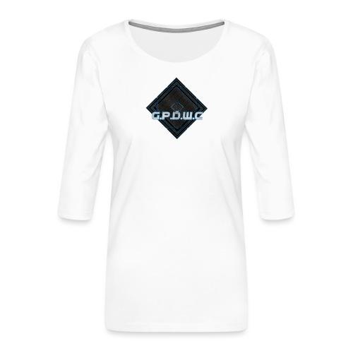 GPDWC - Dame Premium shirt med 3/4-ærmer