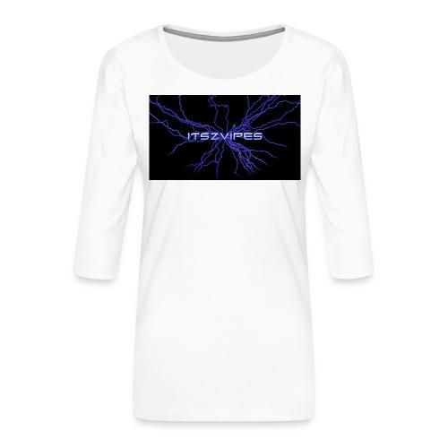 Beste T-skjorte ever! - Premium T-skjorte med 3/4 erme for kvinner