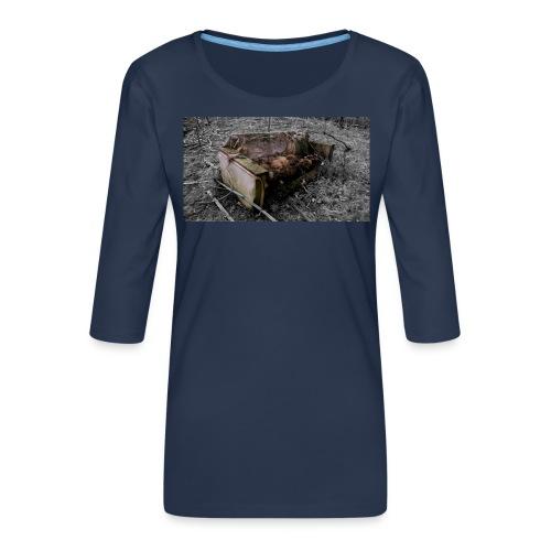 sofa 1 - Dame Premium shirt med 3/4-ærmer