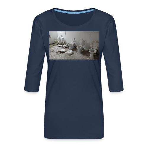 Toilets - Dame Premium shirt med 3/4-ærmer