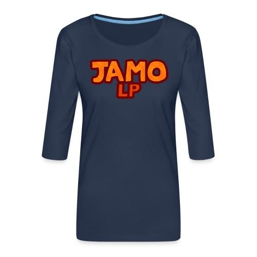JAMOLP Logo Mug - Dame Premium shirt med 3/4-ærmer