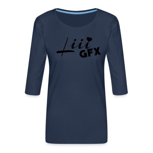 LiiiGFX Merch! - Frauen Premium 3/4-Arm Shirt